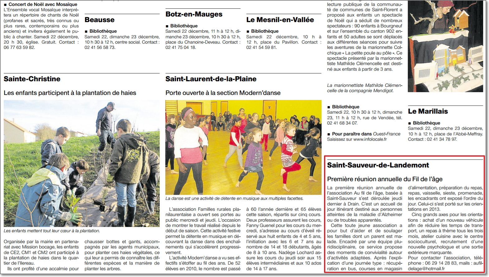 22/12/2012 - Ouest France