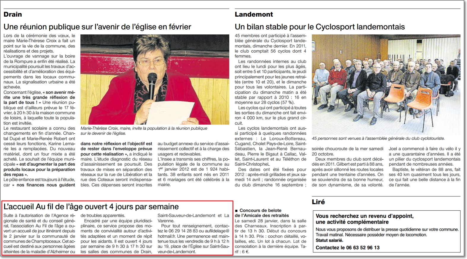 25/01/2012 - Ouest France
